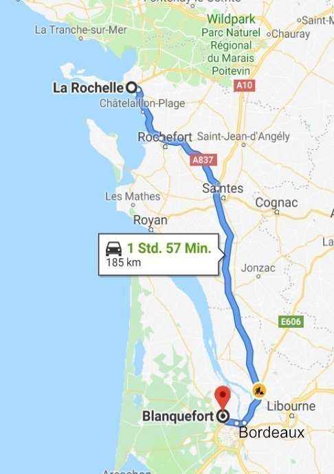 Blanquefort - La Rochelle