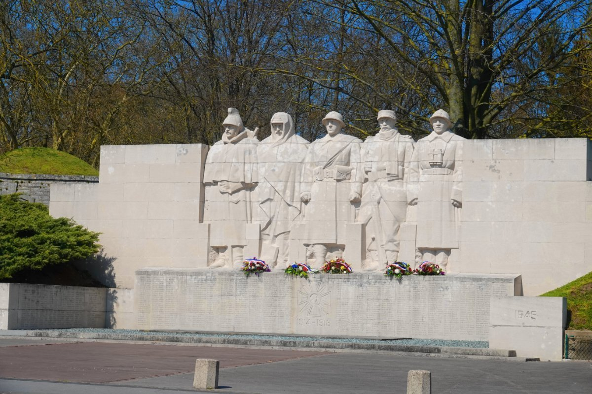Denkmal an beide Weltkriege