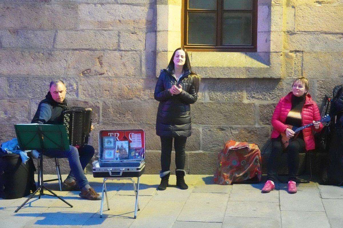 Drei russische Musikanten