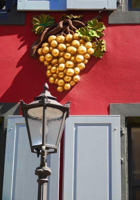 Goldene Trauben