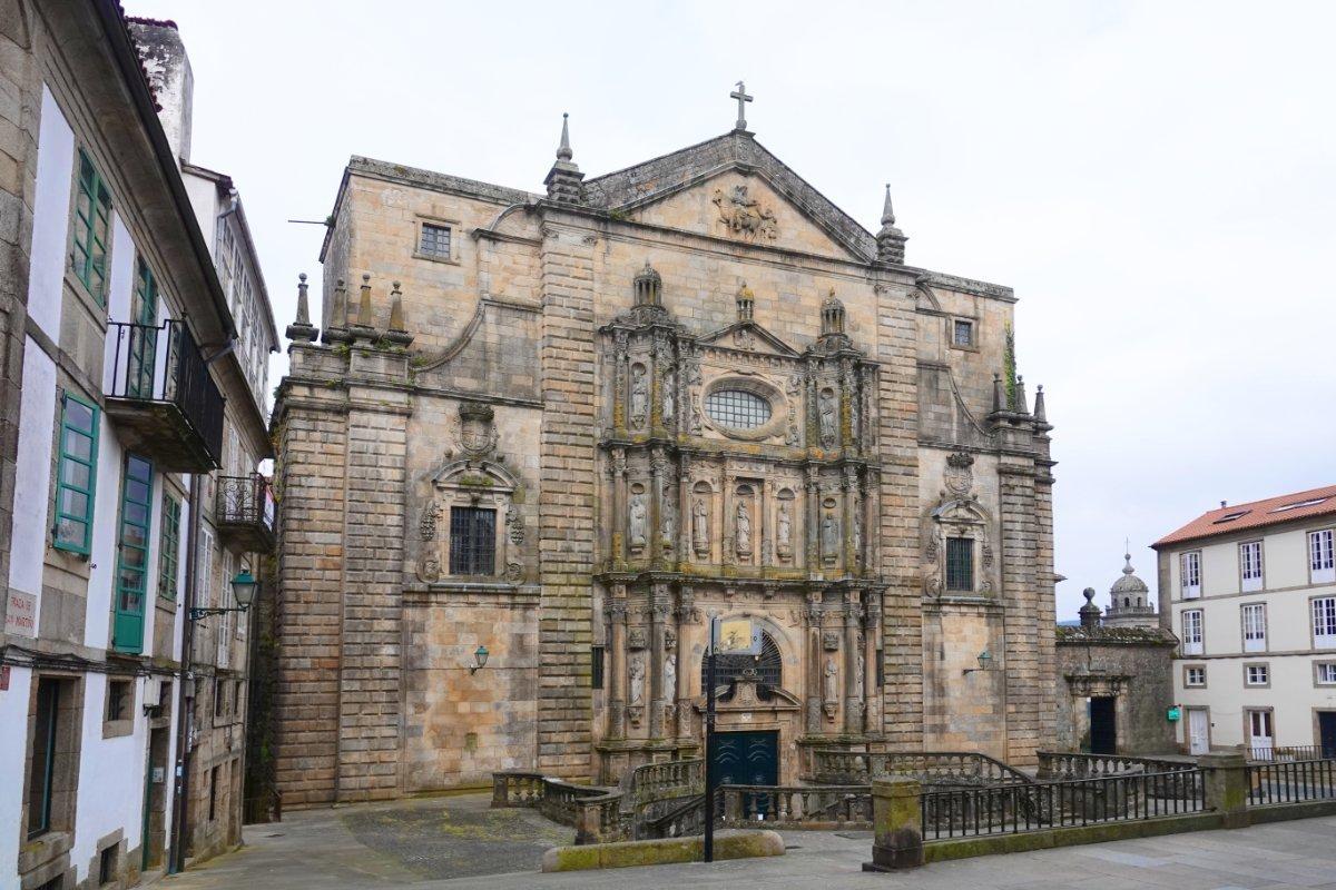 Die Kirche San Martín