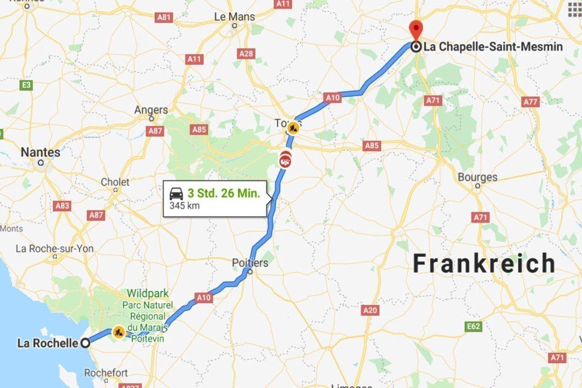 La Rochelle - La Chappelle-Saint-Mesmin