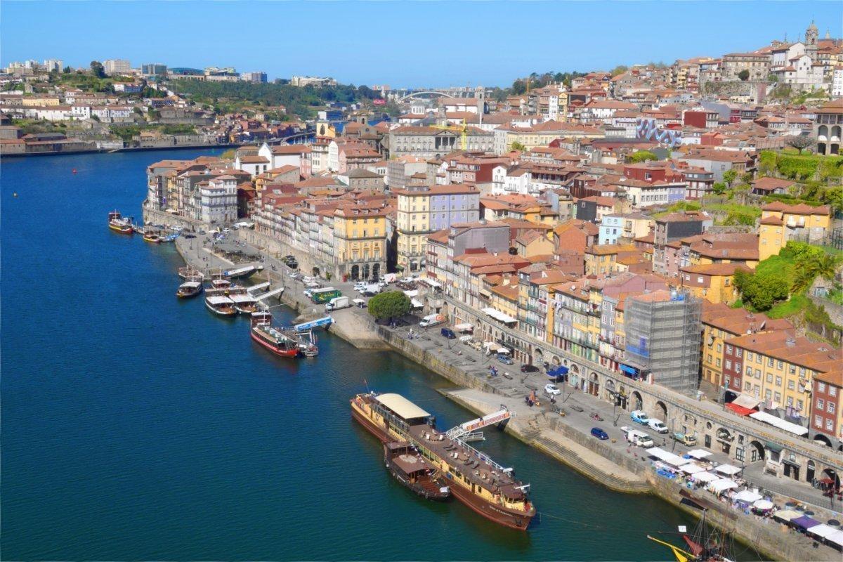 Das Nordufer des Douro - auf der Porto Seite
