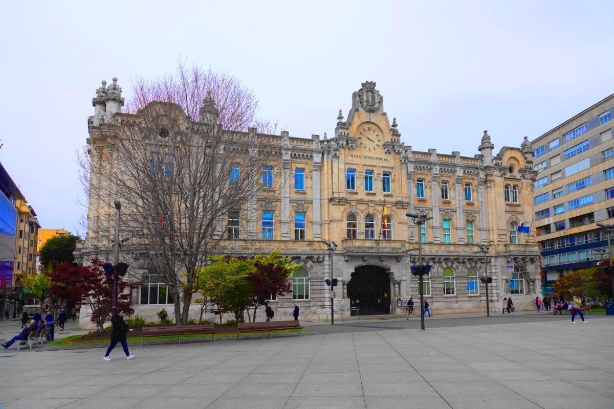 Rathaus Santander