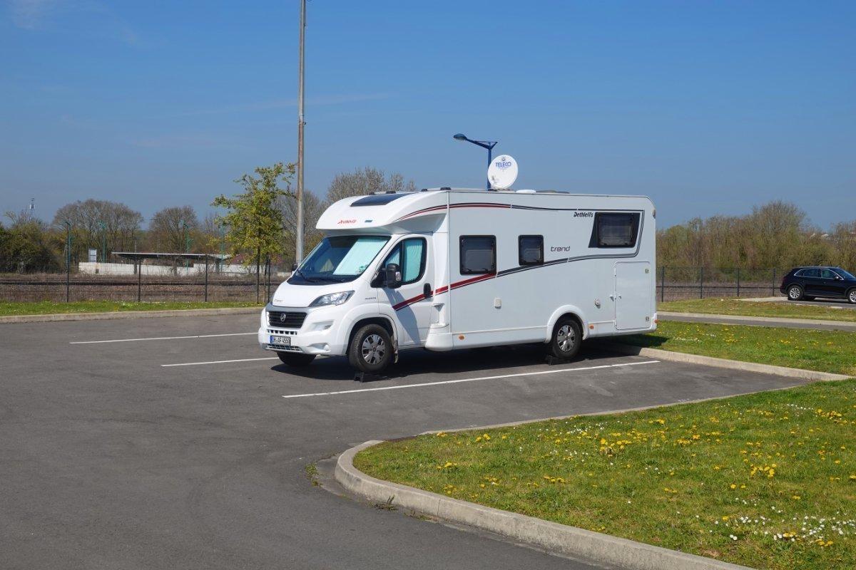 Stellplatz Verdun (GPS: