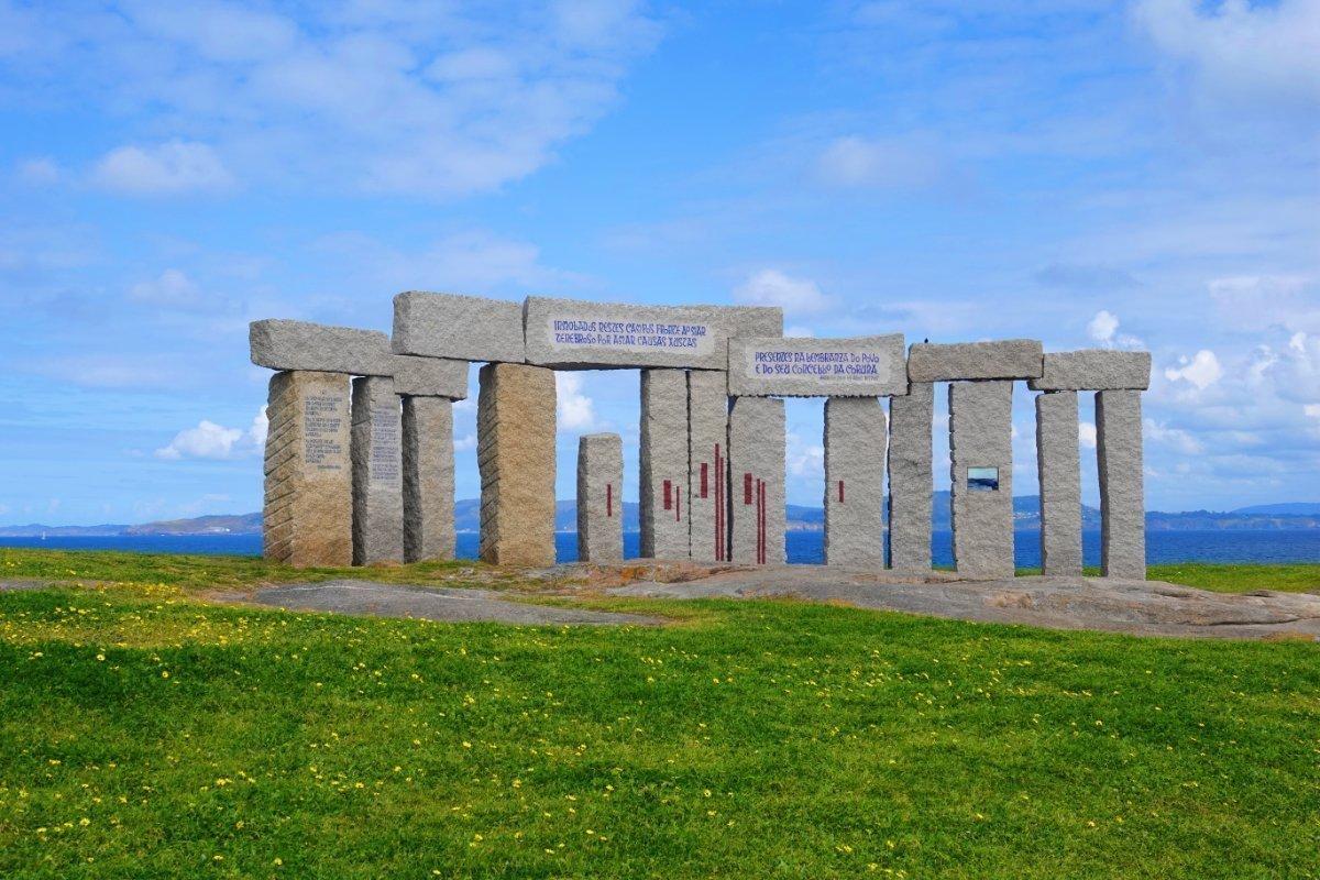 Stonehenge-ähnliches Gebilde von Manolo Paz