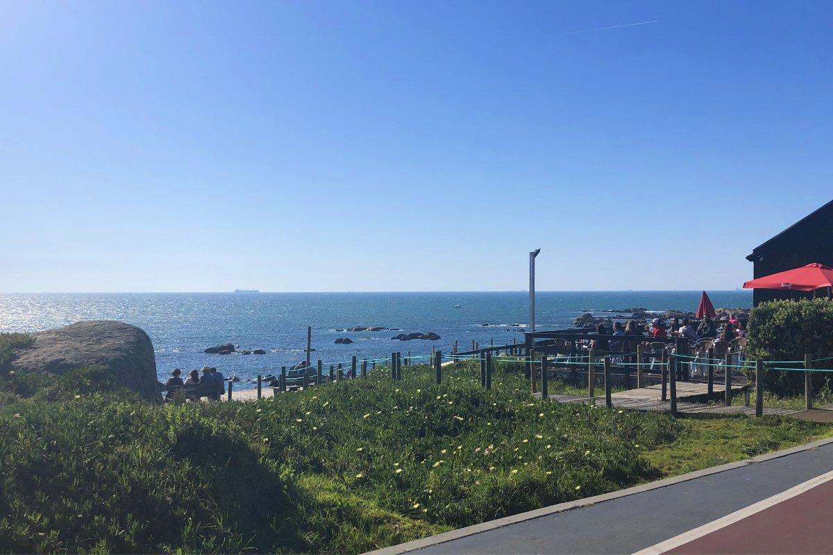 Strandpromenade in Candelo