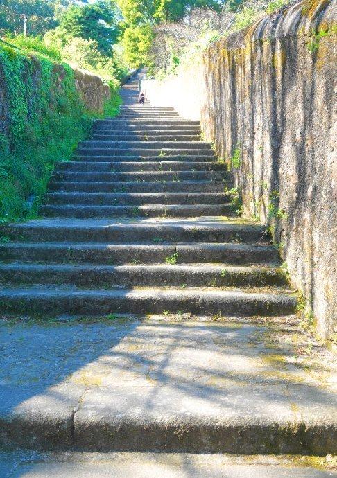 Teil der 700 Stufen