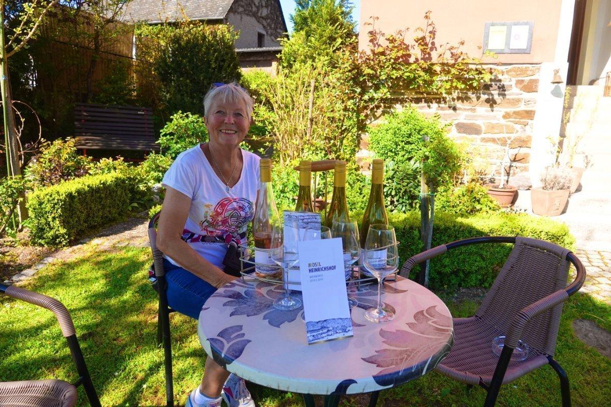 Weinprobe in der Weinvilla Heinrichshof
