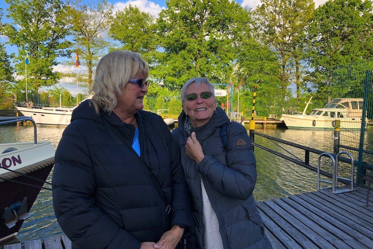 Anne und Anne am Dortmund-Ems-Kanal