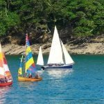 Boat Parade in Fowey on D-Day Commemoration 6.6.2019