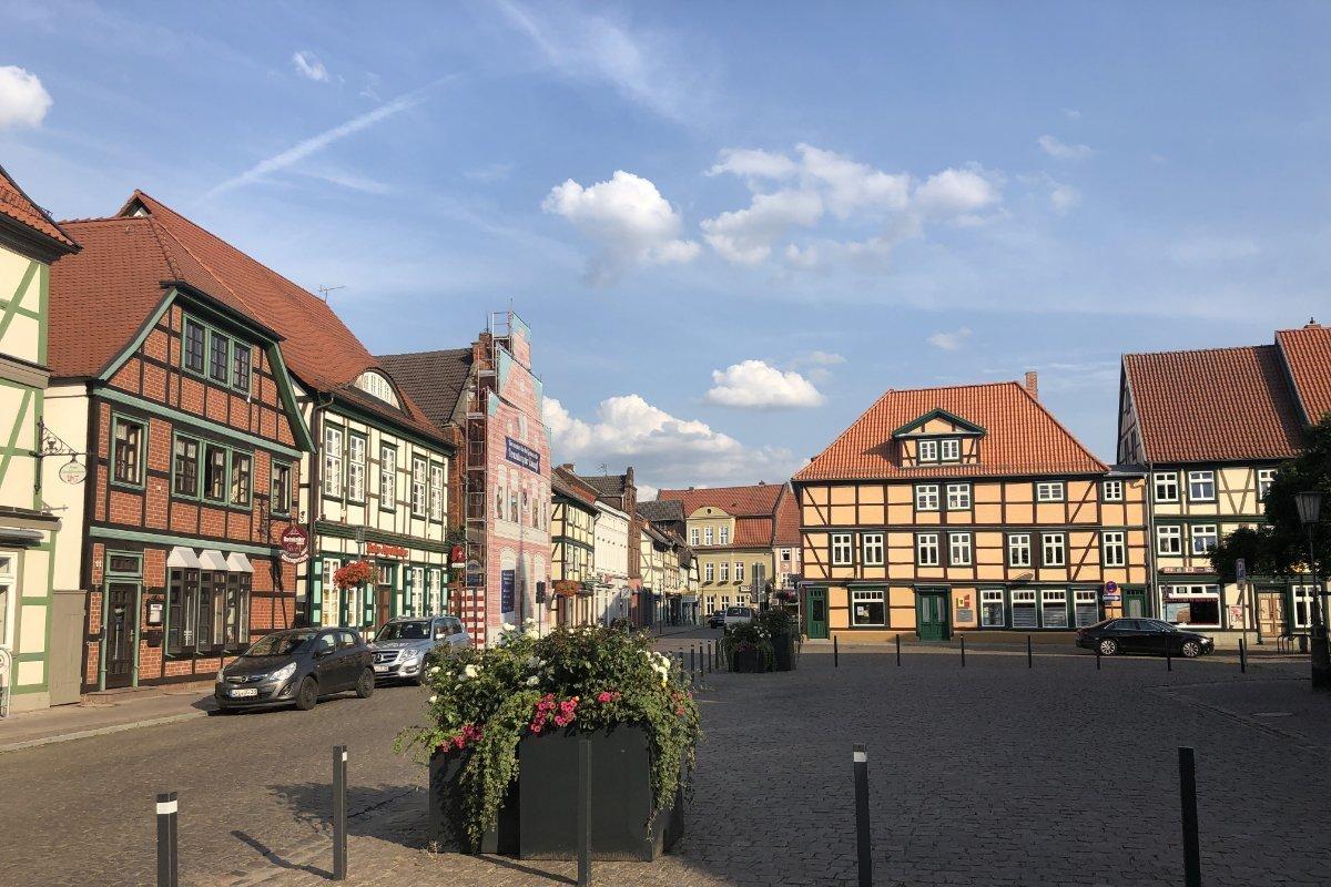 Grabow Marktplatz