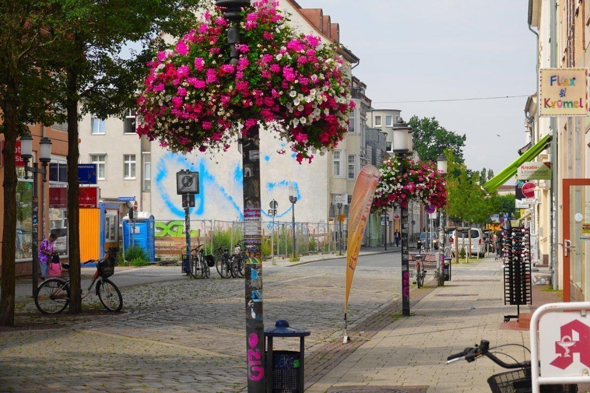 Greifswalder Fußgängerzone
