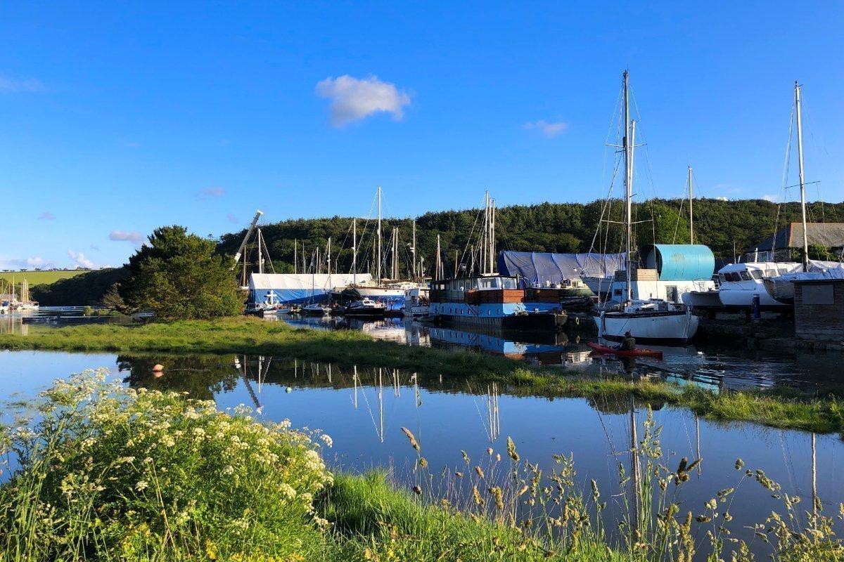 Helford River in Gweek