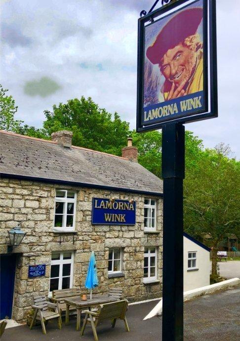 Lamorna Wink Pub