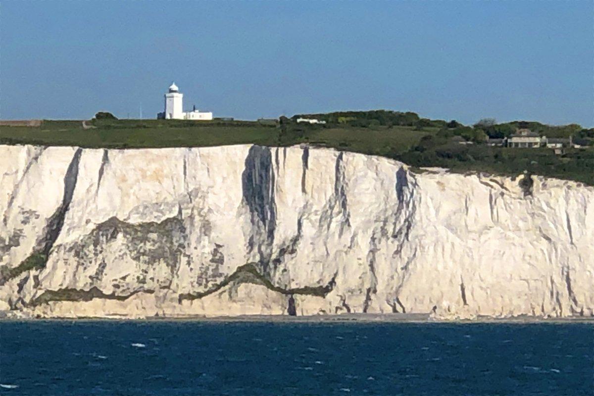 Der Leuchtturm bei Dover