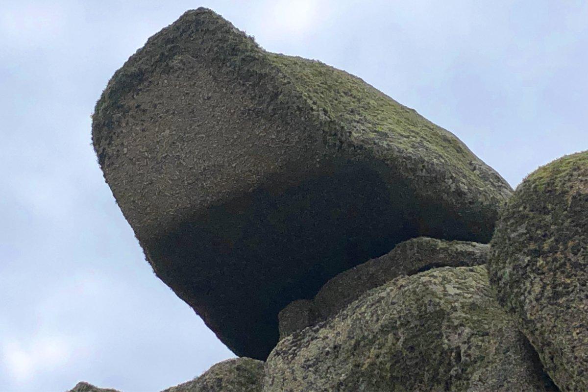 """Der """"schaukelige"""" Logan Rock"""