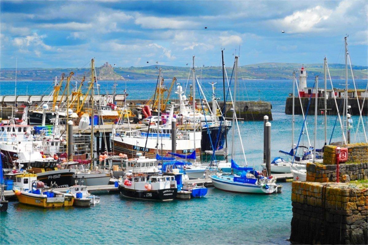 Fischereihafen von Newlyn