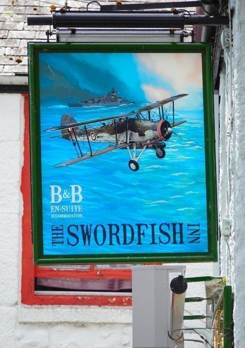 Pub Schild in Newlyn