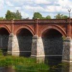 Alte Steinbrücke in Kuldiga
