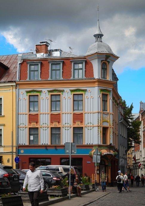 Altstadt Gasse in Riga