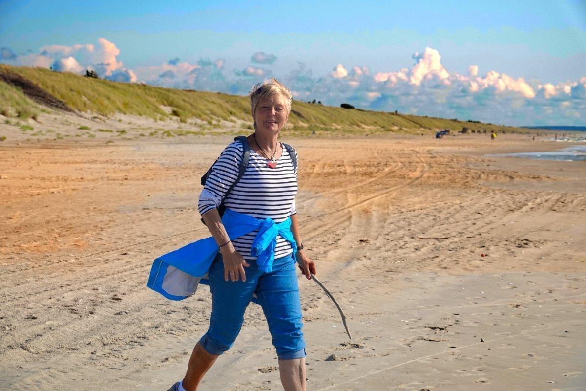 ...und hier am Strand der kurischen Nehrung