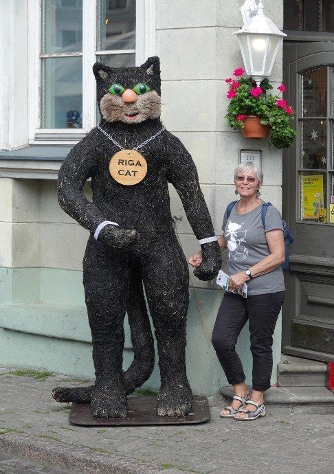 """Anne mit der """"Riga Cat"""""""