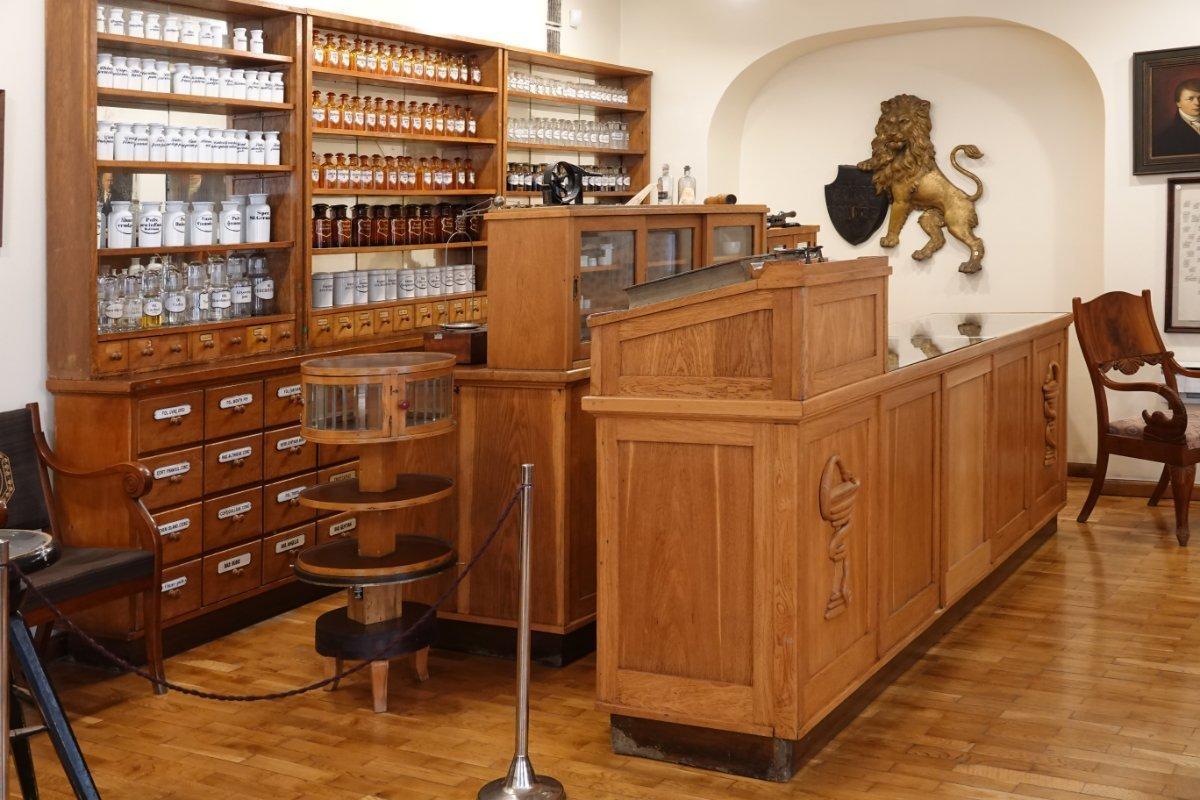 Apotheke im pharmazeutischen Museum
