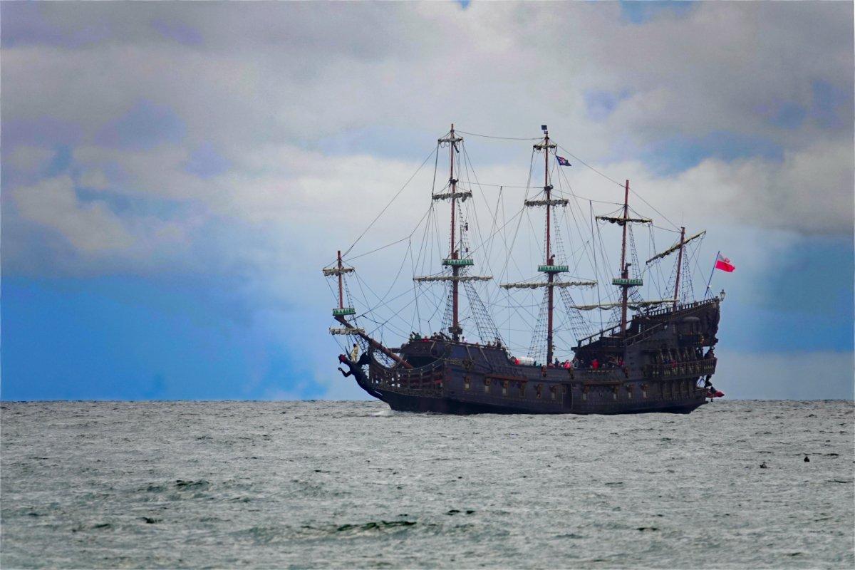 """Ausflugs-Kogge """"Galleon"""""""