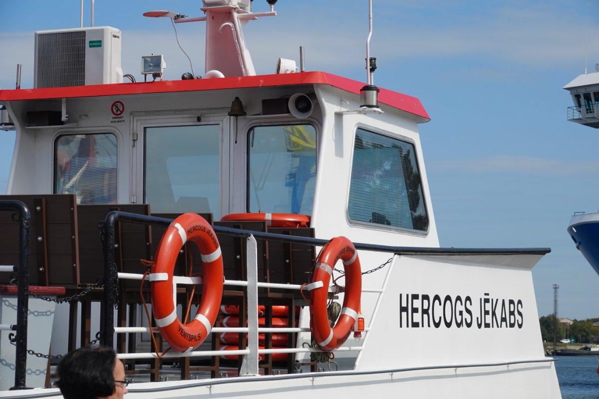Ausflugsboot Herzeg Jakub