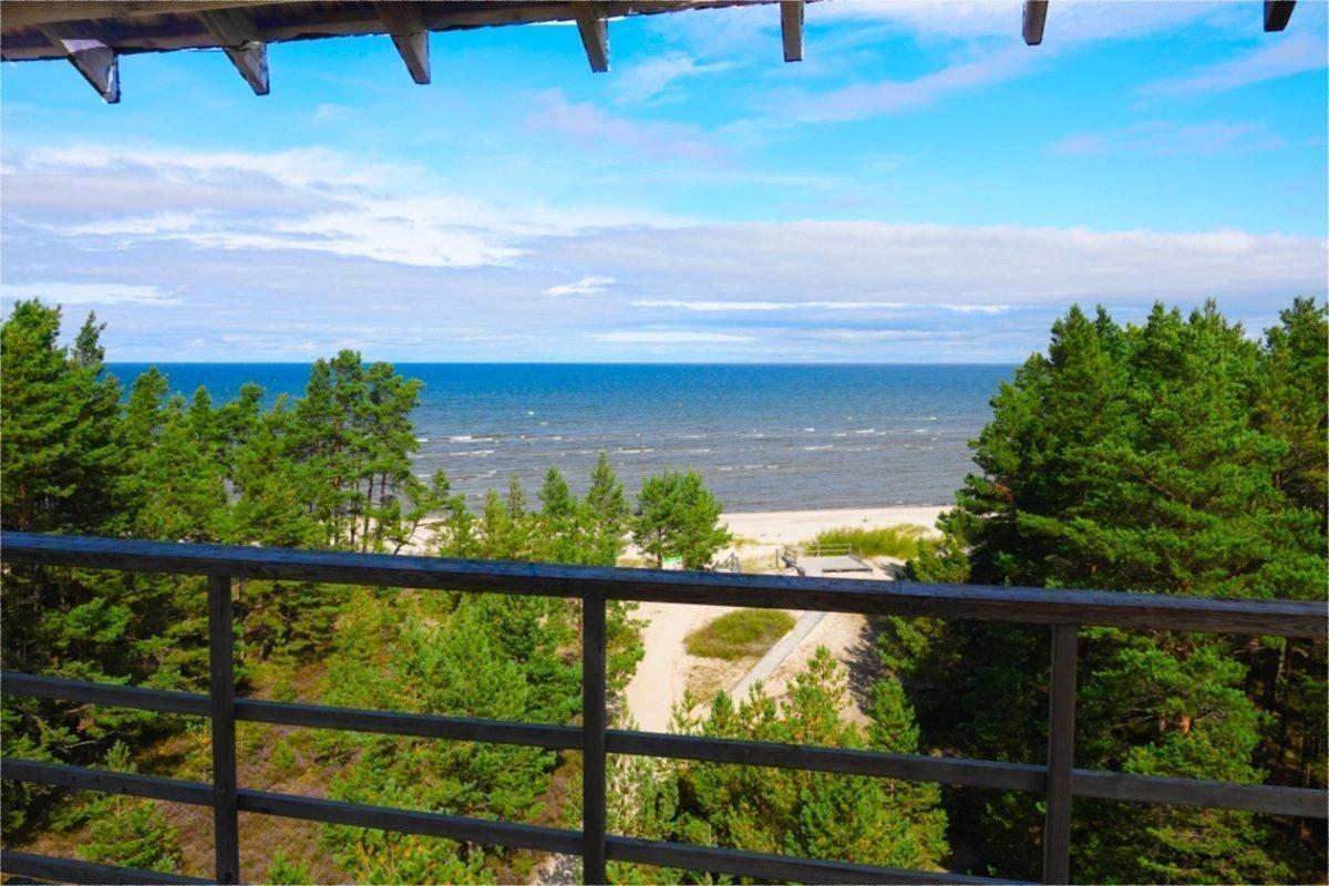 Blick vom Aussichtsturm auf die Ostsee