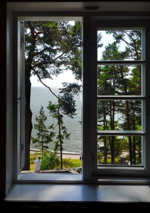 Blick von Thomas Manns Arbeitszimmer