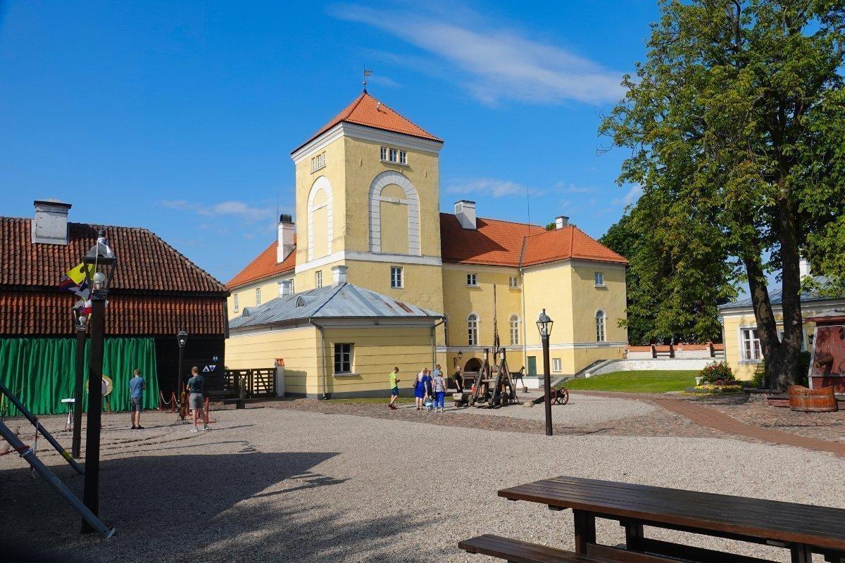 Burg des livländischen Ordens