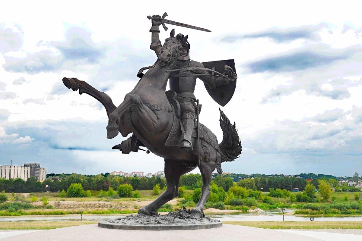 Denkmal des Ritters Vytis