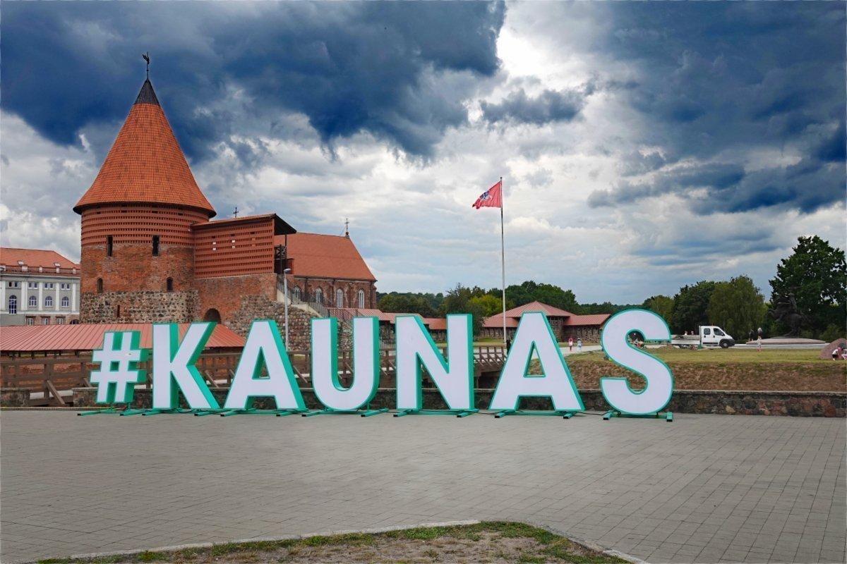 Die restaurierte Kaunas Burg
