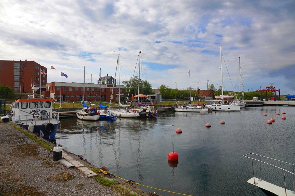 Die Marina, wo wir waschen konnten