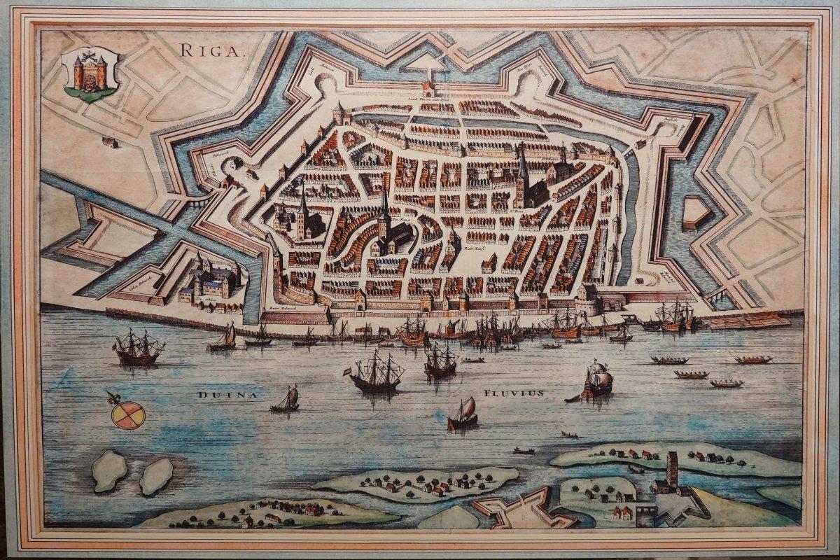 Festung Riga im Mittelalter