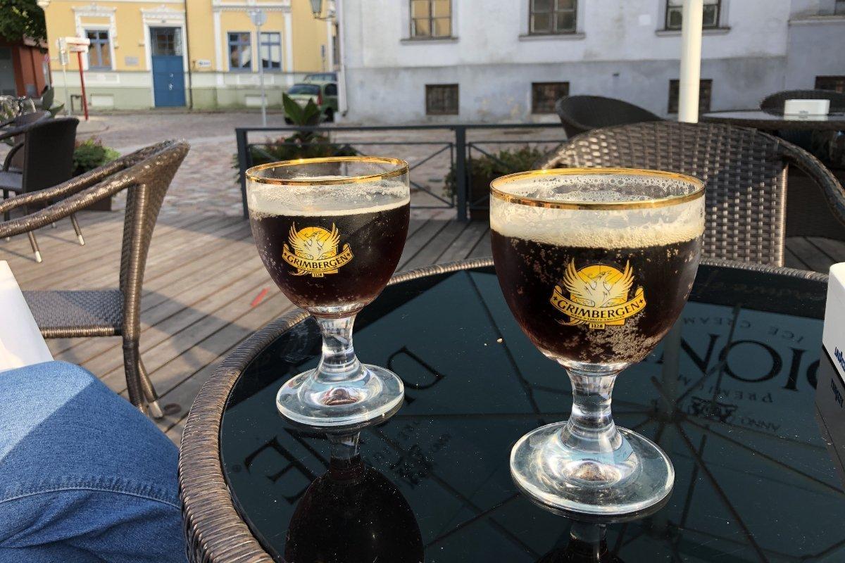 Köstliches Bier, das Grimbergen
