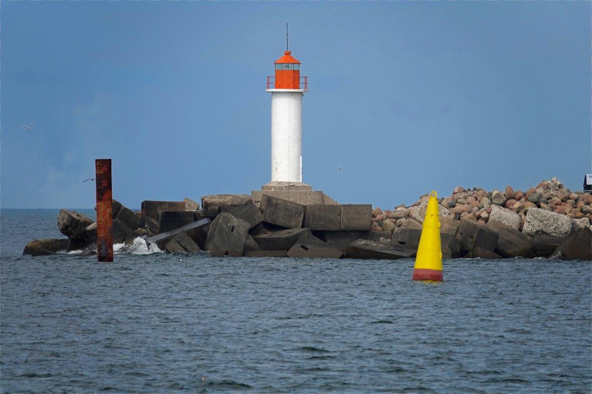 Hafeneinfahrt Ventspils