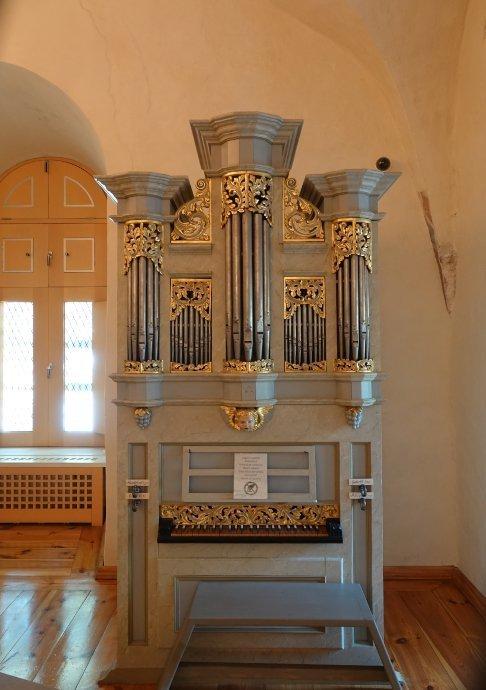 Kleine Orgel in der Burg