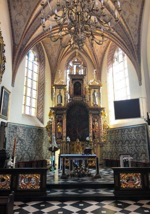 Das Innere der Pfarrkirche