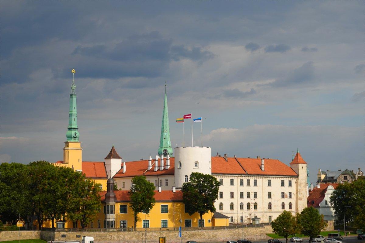 Rigaer Schloss - Sitz des Staatspräsidenten