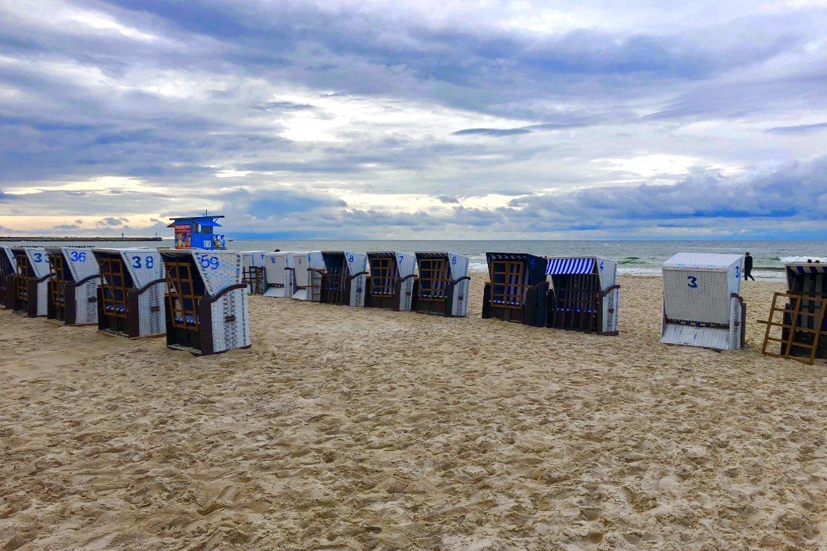 Strandkörbe in Kolberg