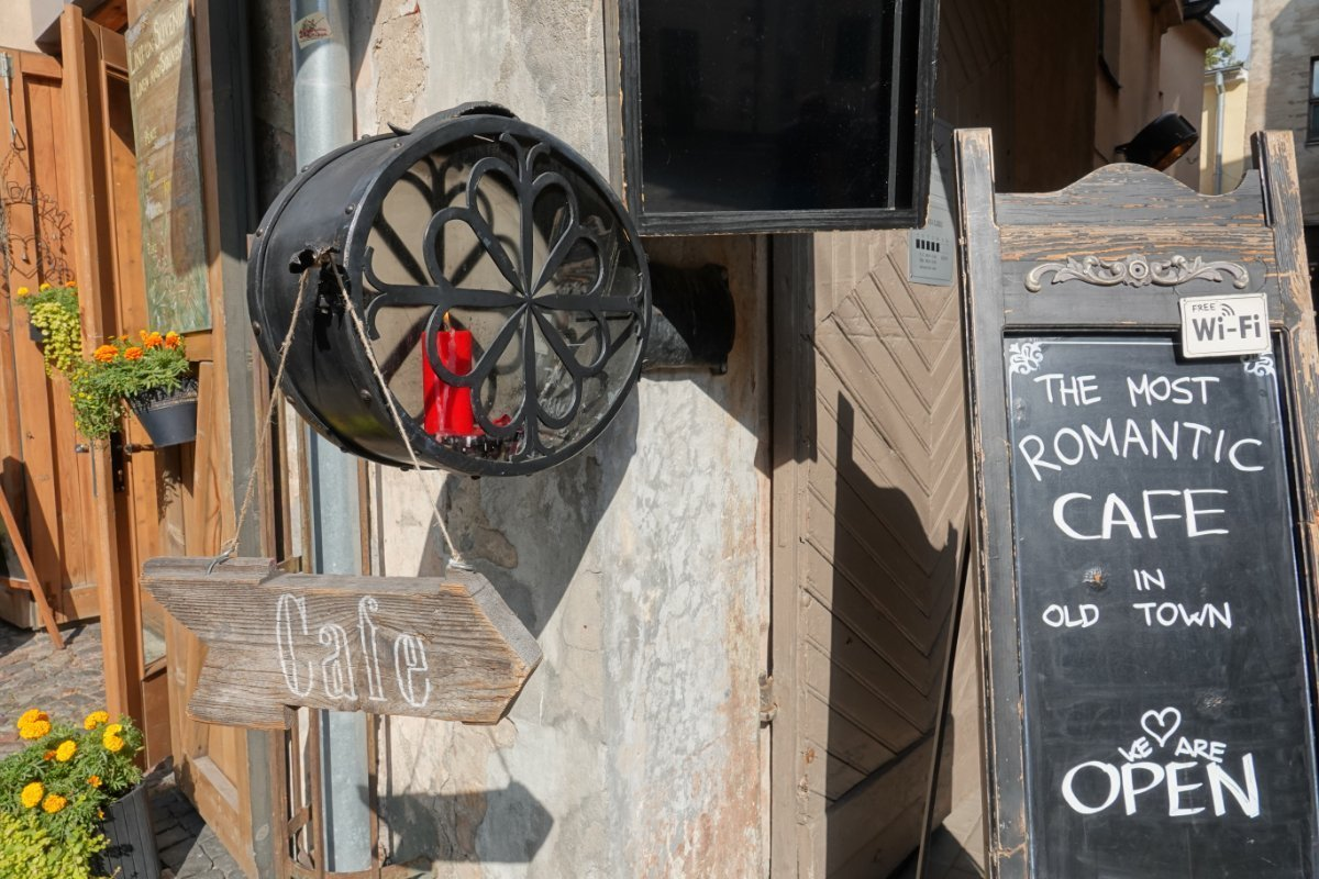 "The ""Most Romantic Café"" und auch das teuerste"