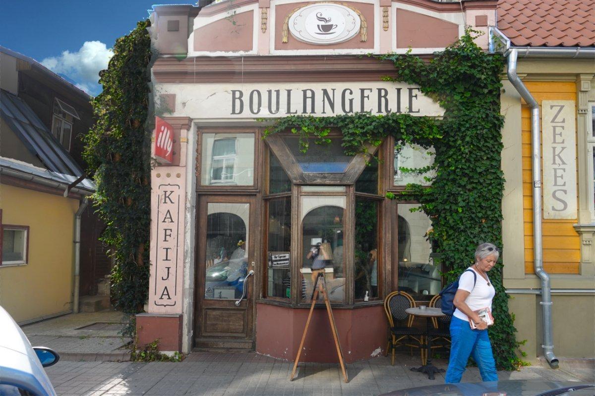 Urige, aber teure Boulangerie