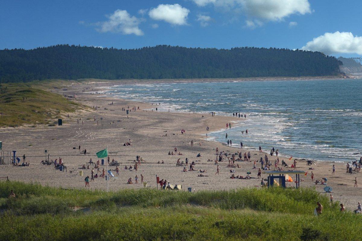 Der Strand von Ventspils