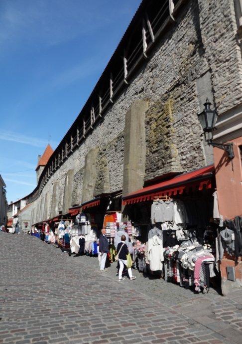 Alte Stdtmauer und Wehrgang