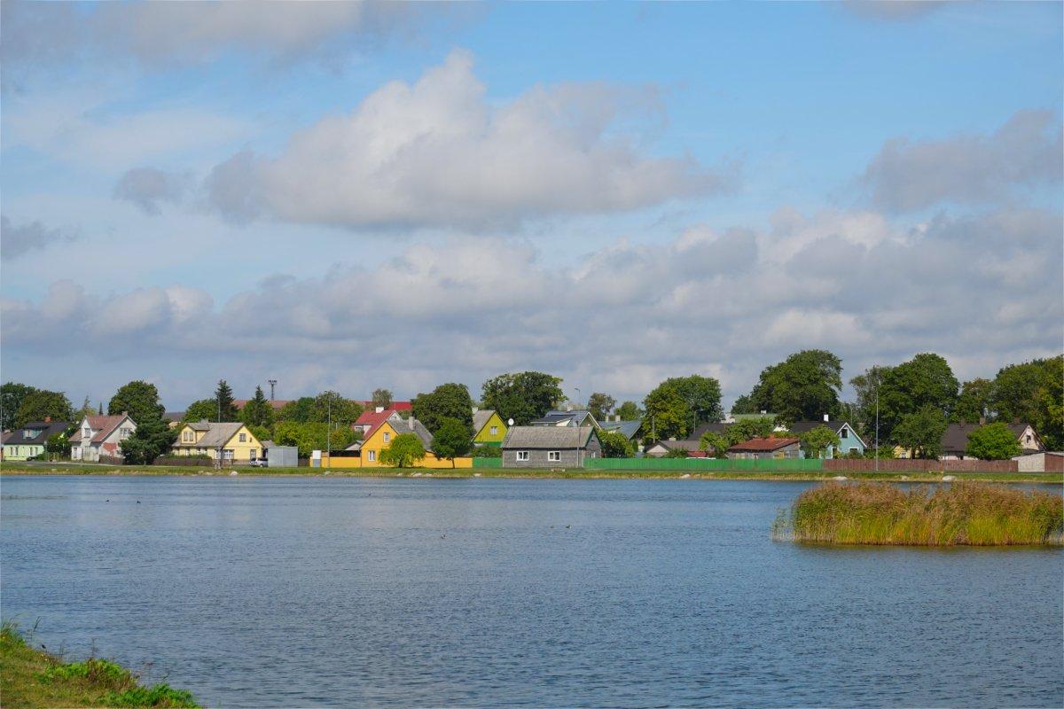 Blick über den Väike See