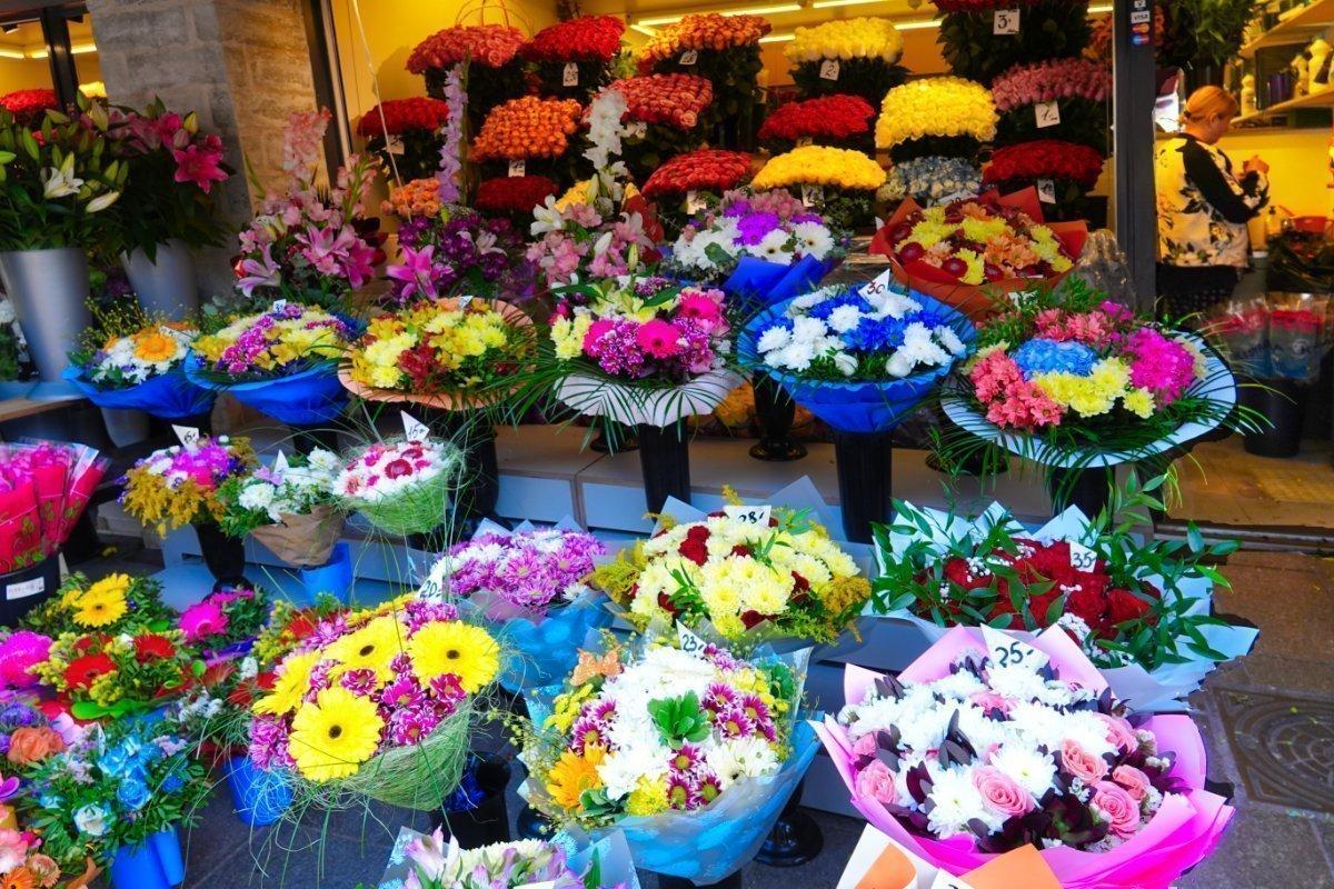 Blumenpracht am Eingang zur Altstadt