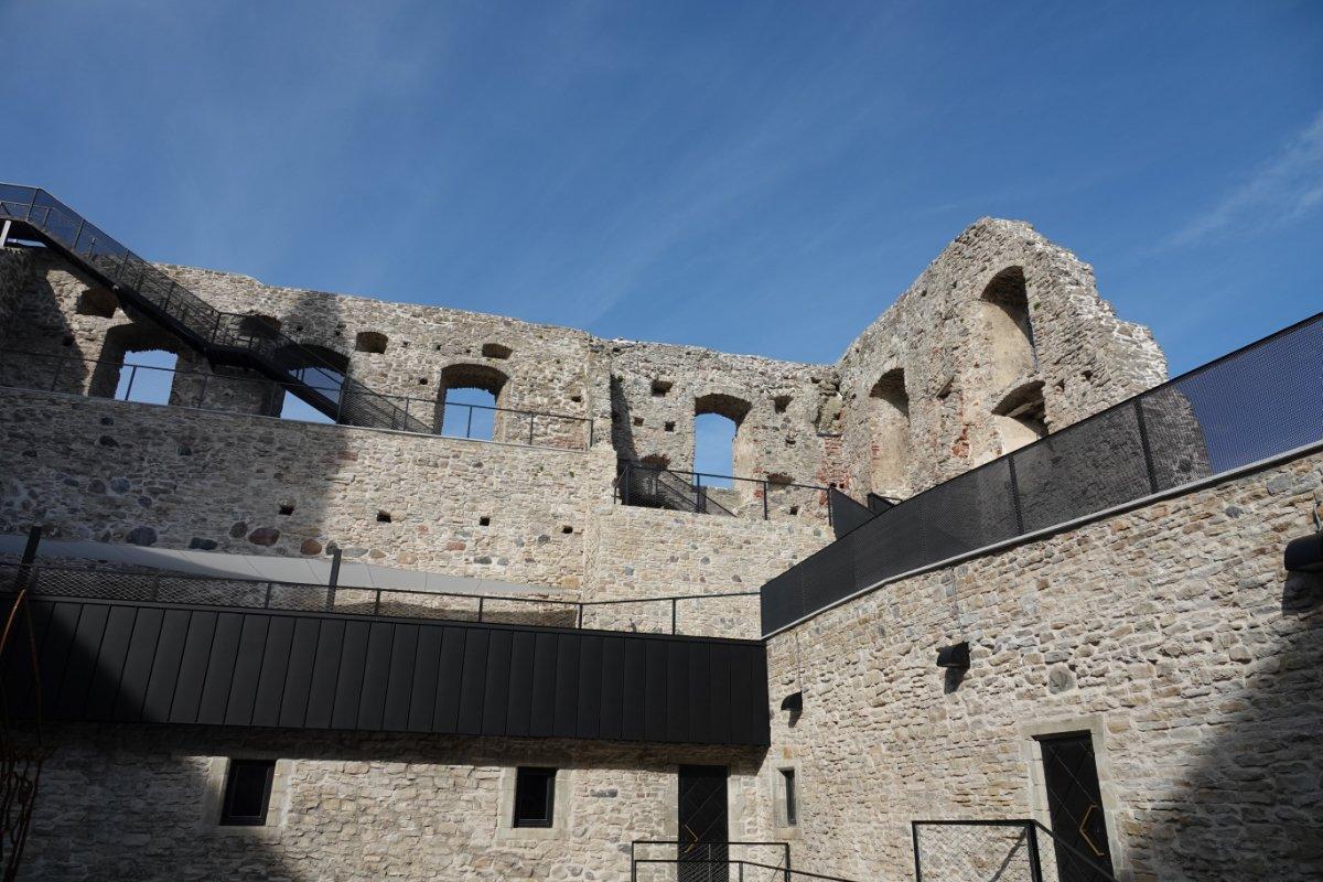 Burgruine der Bischofsburg